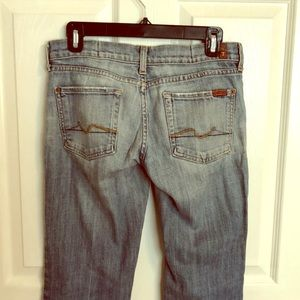 7 For All Mankind, light wash
